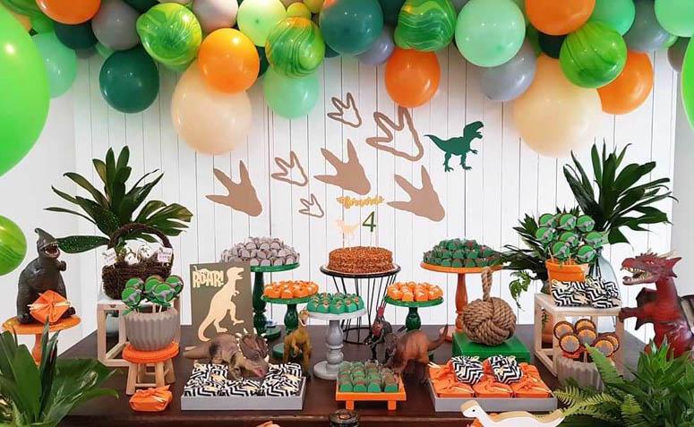 festa dinossauro - Temas de festa em alta para 2019