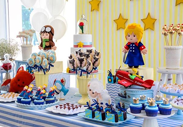 festa pequeno principe 1 - Temas de festa em alta para 2019