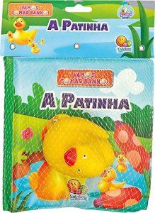 livrinho de banho 219x300 - Brinquedos para o banho do bebê