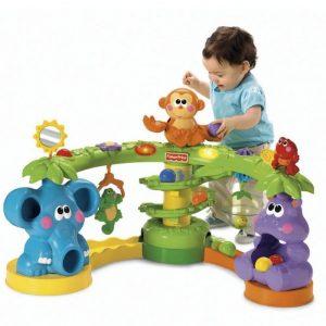 selva animada Fisher Price 300x300 - Ensinando o bebê a andar